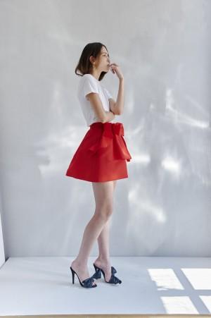 Reedición de falda de la colección Candela (290 euros).