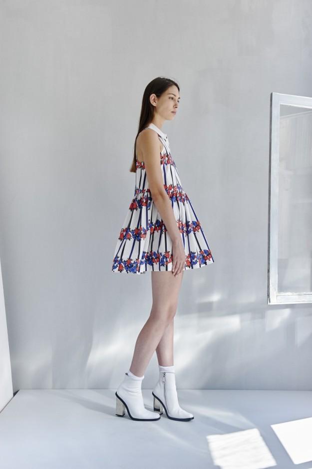 Reedición de vestido de la colección A girl named Alex (260 euros).