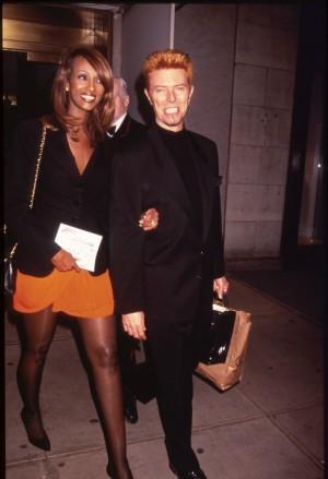 Cuando Iman conoció a David Bowie evitó enamorarse de él, pero no funcionó: llevan 23 años casados.