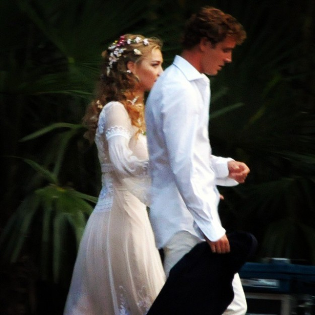 Beatrice Borromeo y Pierre Casiraghi en la fiesta de su pre boda italiana.