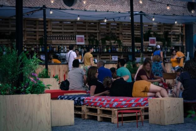 The Urban Beach Cinema Conde Duque.