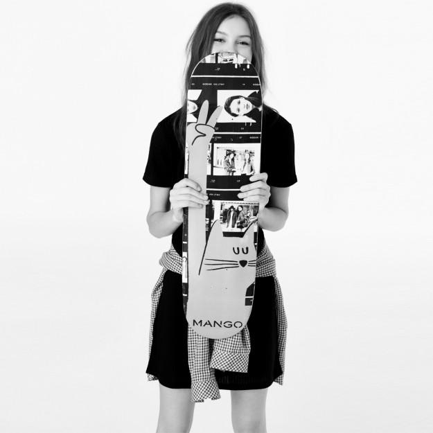 El ilustrador Christopher David Ryan ha creado 4 tablas de skateboard para Mango.
