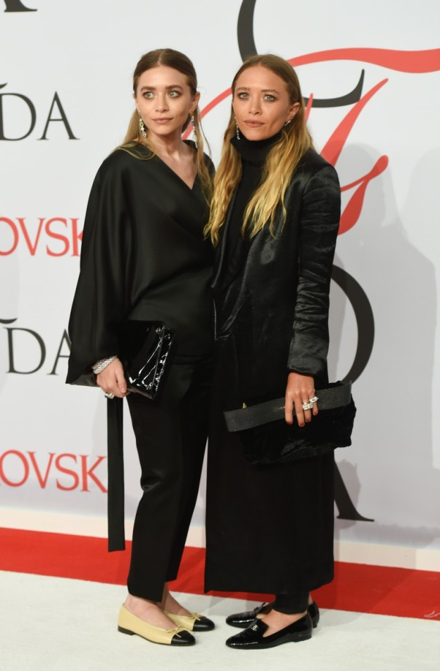 Las gemelas Olsen en los CFDA Fashion Awards 2015, en Nueva York.