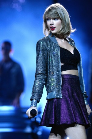 Taylor Swift durante el concierto de su gira The 1989 World Tour en Colonia