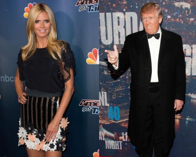 Donald Trump afirma que Heidi Klum ya no es un 10.