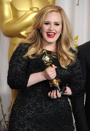 En los Oscars de 2013, antes de iniciar su dieta.