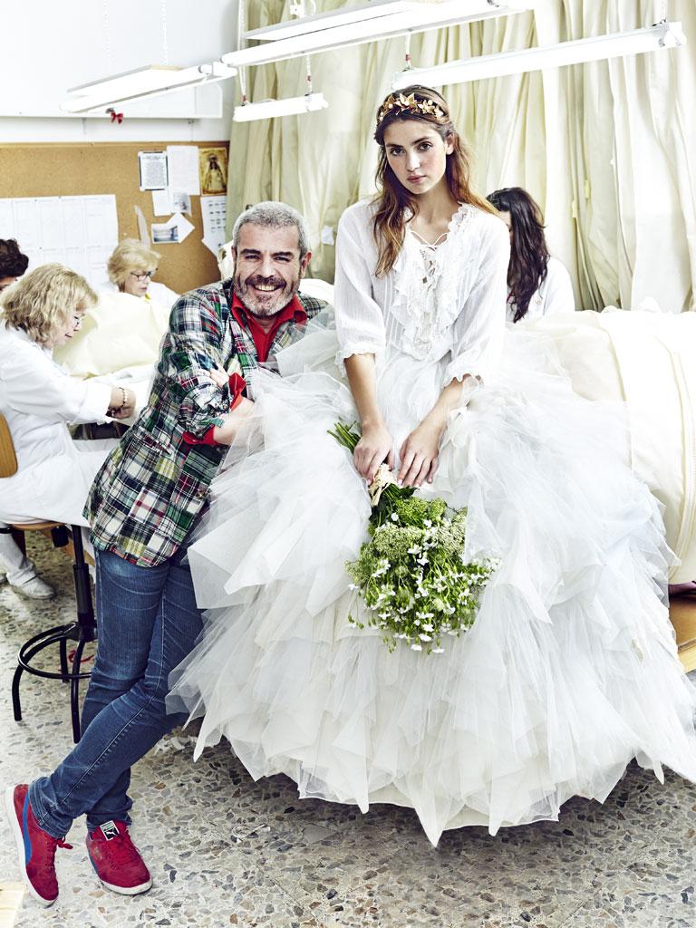 Vestidos novia caprile
