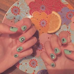 El nail art de Blanca Suárez