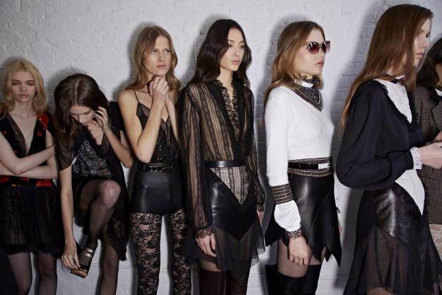 El último desfile de Rodarte en la New York Fashion Week, el pasado febrero.