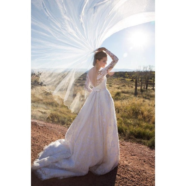 Allison Williams, de 27 años, y Ricky Van Veen de 34, se casaron el pasado sábado en una ceremonia íntima.