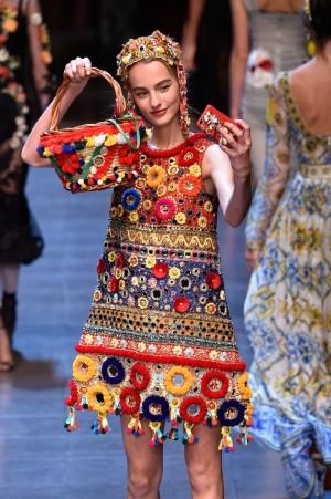 Dolce & Gabbana sube los selfies a la pasarela.