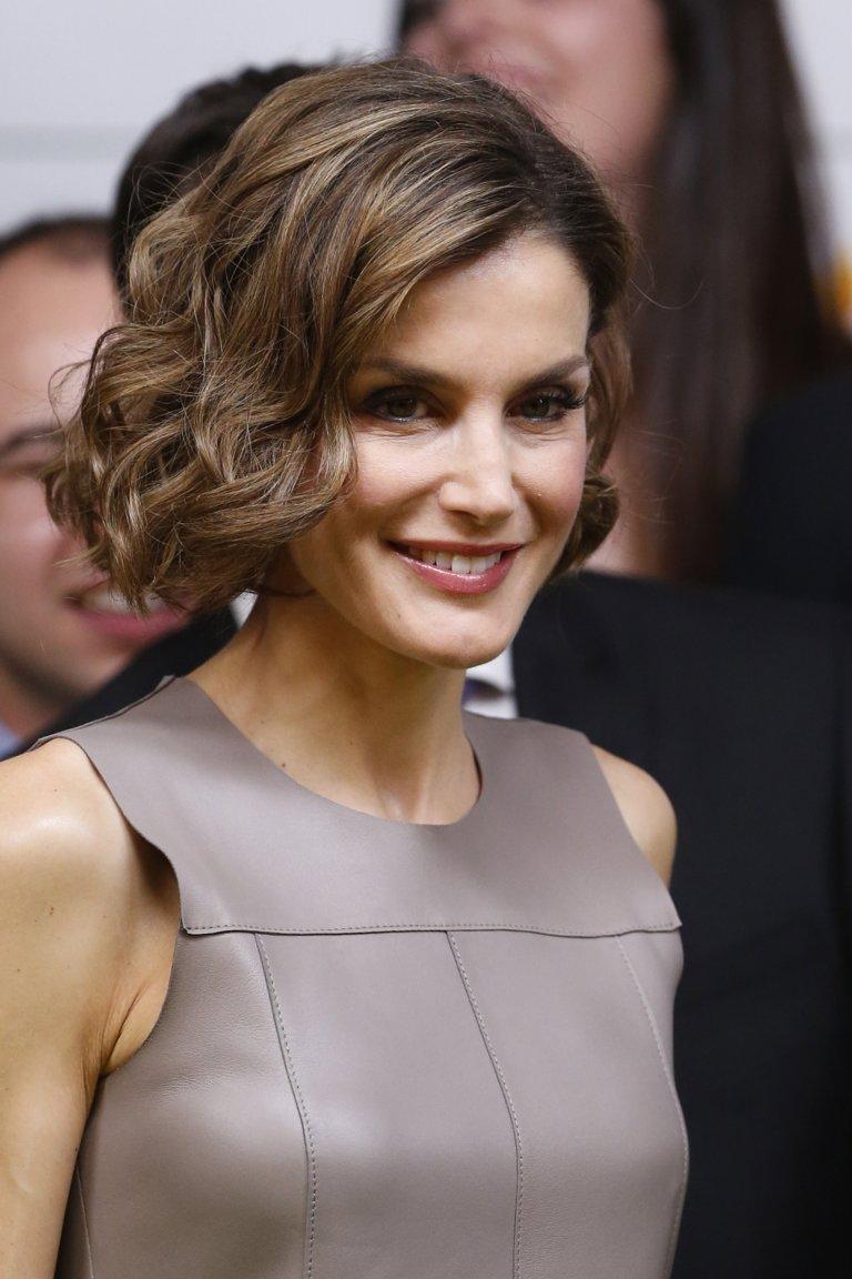 La princesa letizia se corta el pelo