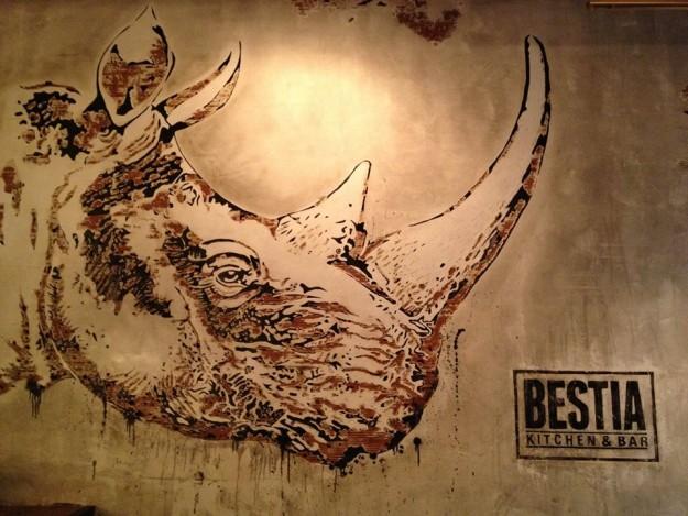 Detalle de Bestia Kitchen & Bar.