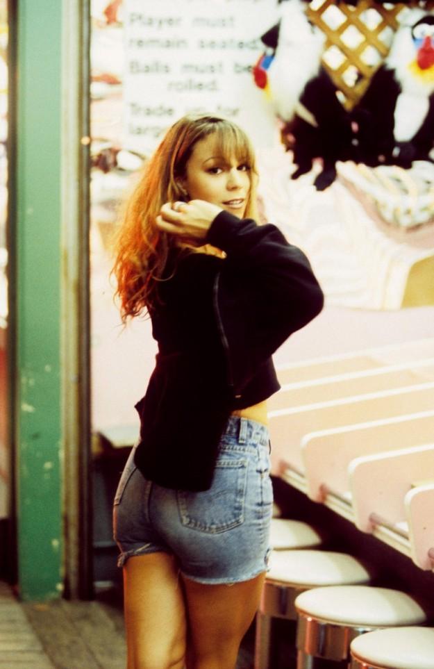 Mariah Carey en los 90.