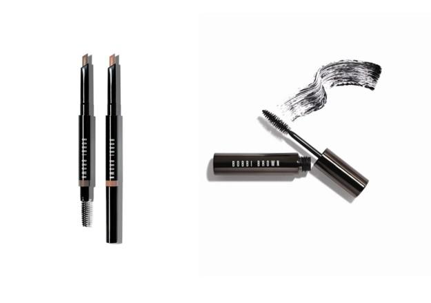 Perfectly Defined LW Brow Pencil y Long Wear Mascara, de Bobbi Brown.