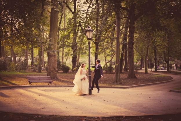 Para coordinar la boda, Celia y Jesús contaron con dos wedding planners: Letizia de Ay Letizia y Vanesa de Y algo azul.