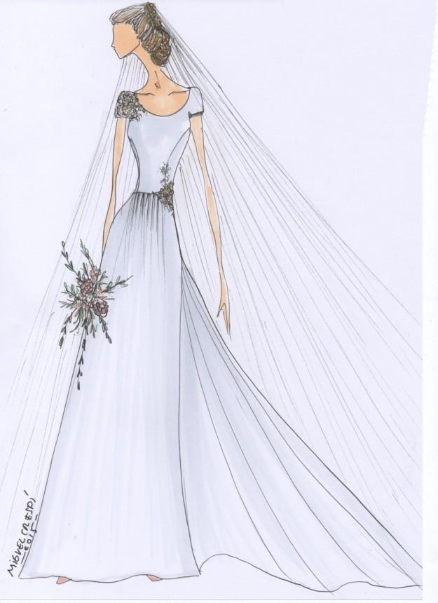 miguel crespí diseña el vestido de boda de tus sueños | telva