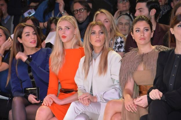 Kim y Blanca, Blanca y Kim. Al lado de Blanca sale Paz Vega, pero la hemos cortado para que no robe protagonismo a la cumpleañera.