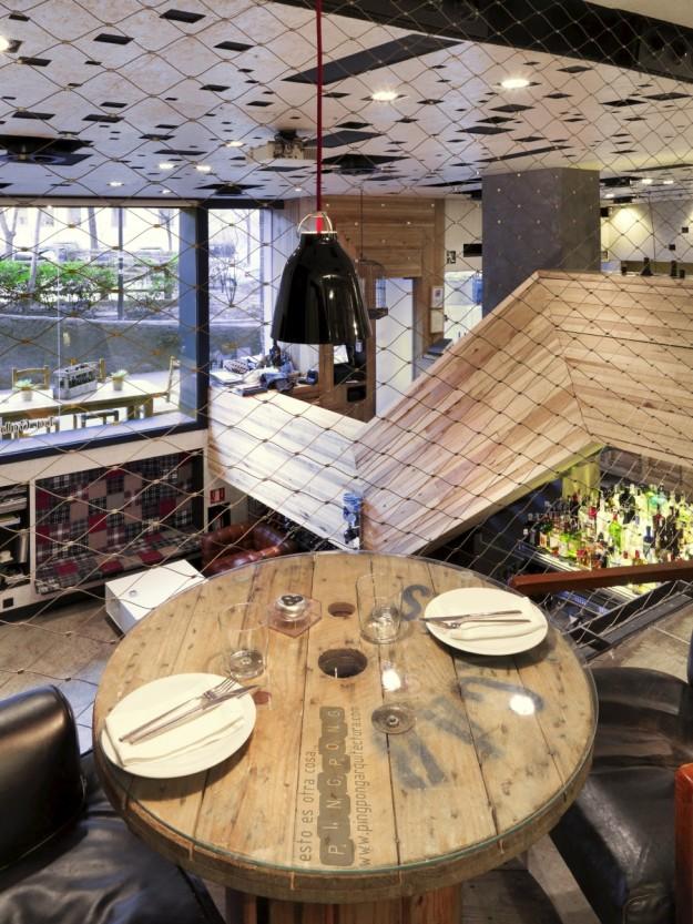 El restaurante La Gabinoteca, en Madrid.