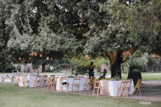 El banquete se celebró en Venta La Rubia.