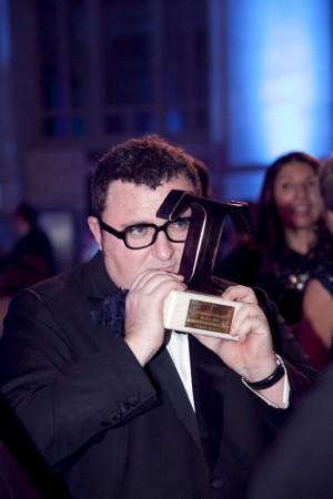 Alber Elbaz durante los Premios TELVA Moda 2010.
