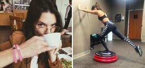 Así se ponen en forma Kendall Jenner y Sara Sampaio