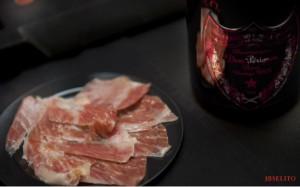 Un maridaje 10: jamón con Champán francés