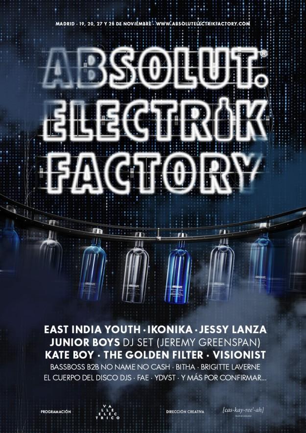 Absolut Electrik Factory.