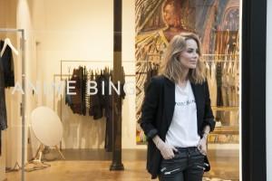 Anine Bing se expande por Europa con tienda nueva en Madrid.