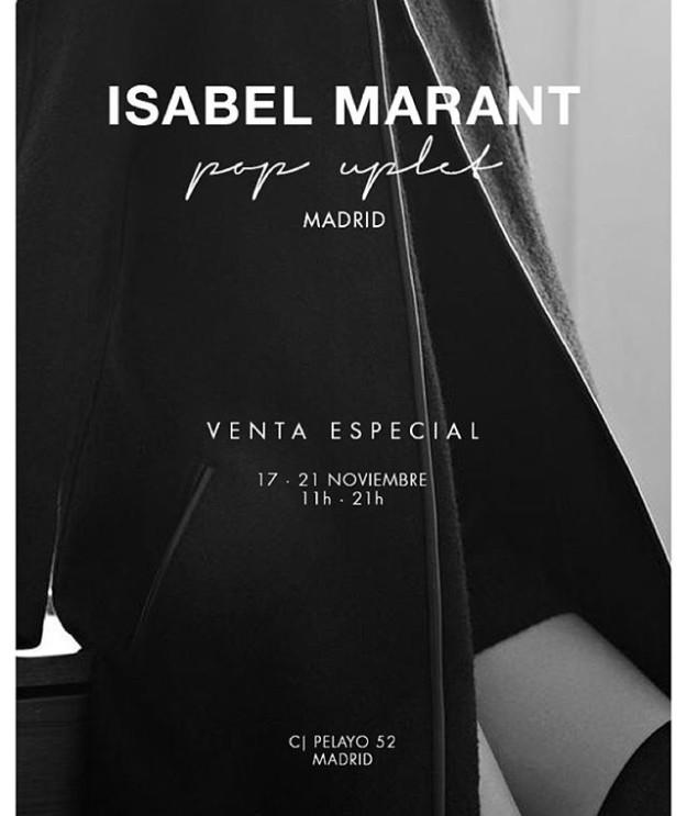 Isabel Marant abre pop uplet en Madrid.