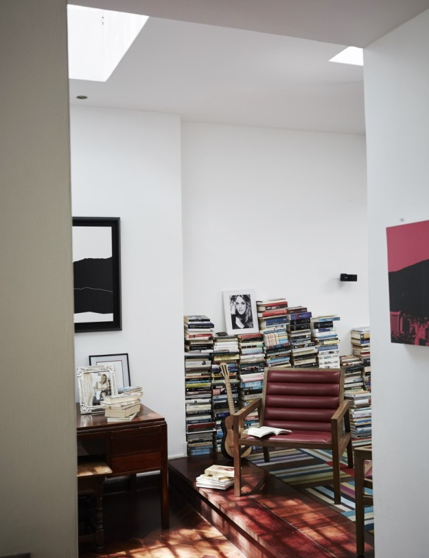 La habitación del líder Leopoldo López.
