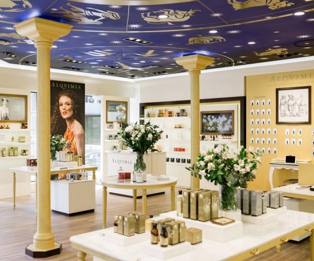 Flagship Store de Alqvimia.