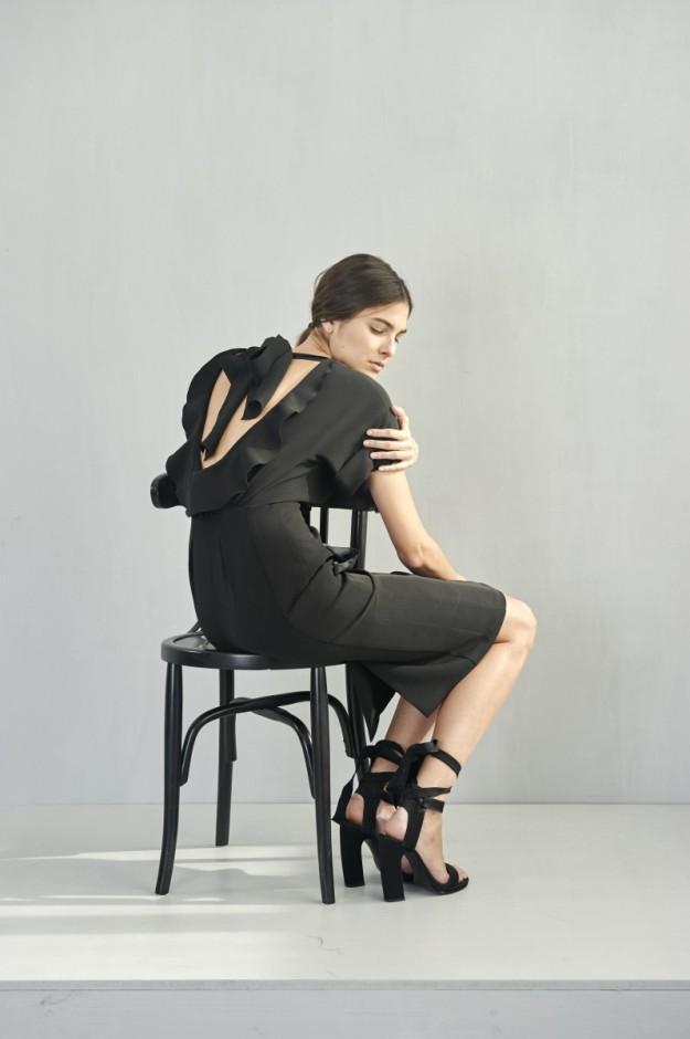 Re-edición de un vestido de la colección Candela (primavera-verano 2013) para My Girls by Juan Vidal.