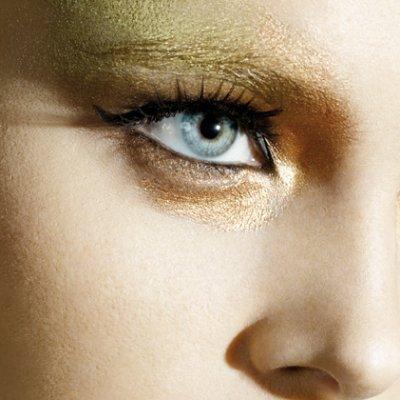 Maquillaje de ojos para Navidad