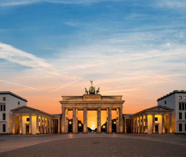 Puerta de Branderburgo, Berlín.