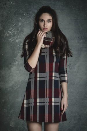 La colección Tartán es la primera para Amy Molyneaux y su equipo como nueva directora creativa de la marca.