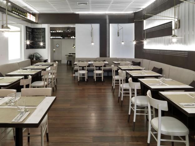 Sala del Restaurante Forte.