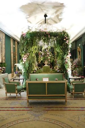 Salón de primavera decorado por Floreale.