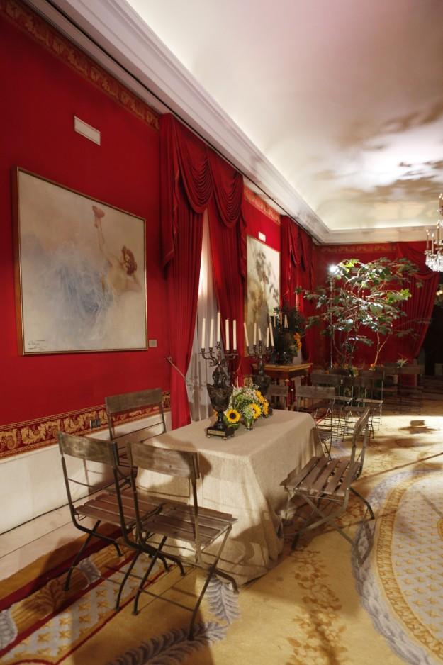 Salón de verano decorado por Llorens y Durán