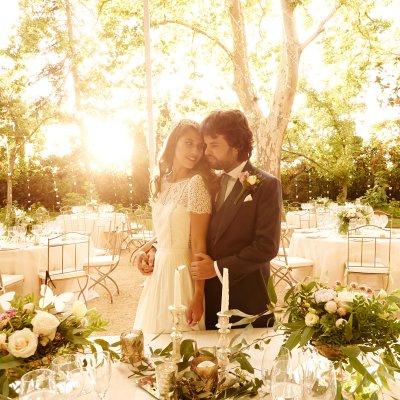 Una boda romántica y mágica