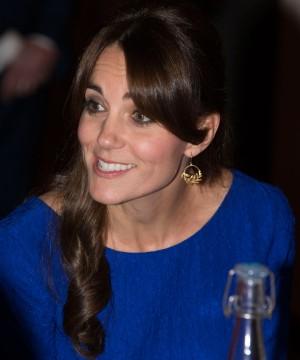 Kate Middleton con sus recogidos para pelo largo
