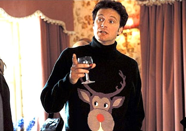El origen de todos los males: el jersey navideño de Mark Darcy.
