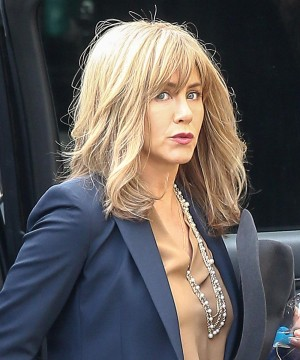 Jennifer Aniston y su cambio de look para el rodaje de The Yellow Birds