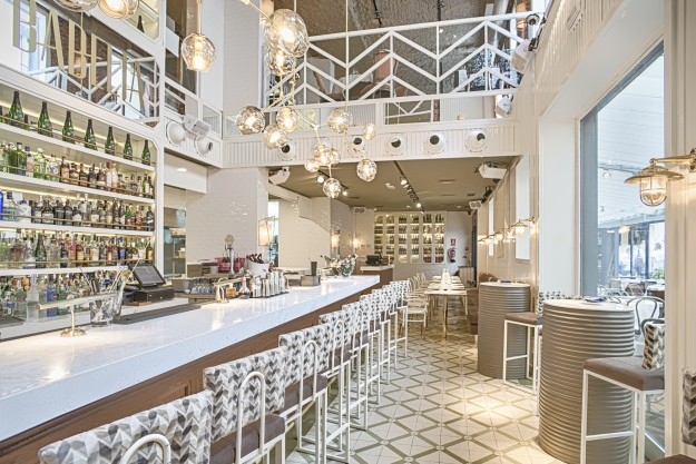 El interiorismo de Babelia Café ha corrido a cargo de Madrid in Love.