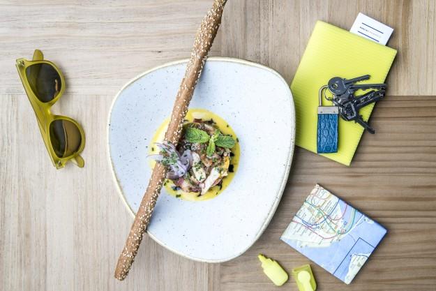 Babelia Café es una Torre Babel gastronómica que te invita a viajar por lo mejor de la cocina internacional.