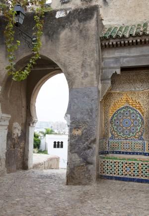 Puerta de Bab El Assa, pintada por Matisse.