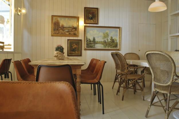 Sala del restaurante Dray Martina.