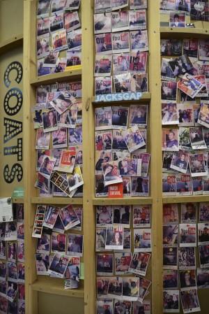 Wall of fame de los estudios de grabación.