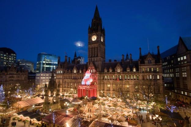 Mercado de Navidad de Manchester
