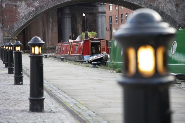 Canales en Castlefield,Manchester